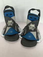 Rare Air Cell Hcll Blindside Wakeboard Bindings Size Small Pull On Straps Nice!
