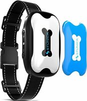 Rechargeable Bark Collar for Dogs - Professional 4 Adjustable Sensitivity Contro