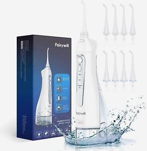 Fairywill Water Flosser Dental Oral Irrigator Pick Cordless Teeth Cleaner
