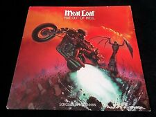 MEAT LOAF - BAT OUT OF HELL LP - EPIC - 1977 - EPC 82419 - EX CON + LYRIC INSERT