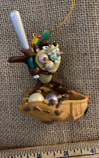 Looney Tunes Ornament Tasmanian Devil Taz Baseball & Glove 1996