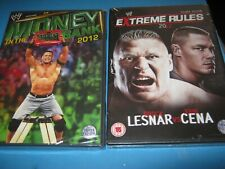 Money In The Bank 2012 + WWE - Extreme Rules 2012 [DVD] New
