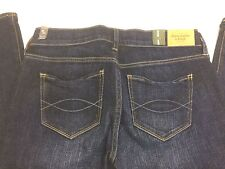 NEW! ABERCROMBIE & FITCH Madison Flare Jeans Women's Stretch Tag: 27 Meas: 30x34