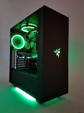 Razer 4 Core i7 7700k 32GB EVO SSD GTX 1080 Ti Custom Gaming Computer Desktop PC