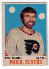 1X BOBBY CLARKE 1970 71 O Pee Chee #195 RC Rookie CHUCK NORRIS BEARD Flyers
