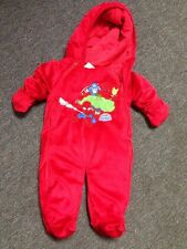 Size 0-3 Months Marvel Superhero Super Hero Squad Red Snow Suit Winter