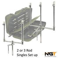 NGT Storks Singles Bank Sticks Buzz Bar Sets FULL RANGE STAINLESS STEEL