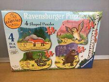 Ravensburger The Gruffalo - Shaped - 4 in 1 Jigsaw Puzzle