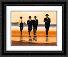 The Billy Boys 2x Matted 24x20 Black Ornate Framed Art Print by Jack Vettriano