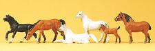 Preiser H0 Art.Nr. 10150 Pferde