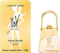 UDV ULRIC DE VARENS GOLD ISSIME  EAU DE PARFUM EDP NATURAL SPRAY 30ml 1.0oz  New