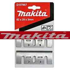 MAKITA planer blades 82mm HM fits 1902 1923H KP0800 KP0810/C D-07967