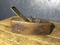 Antique Vintage Wood Plane, Wood Working Carpenters Tool.