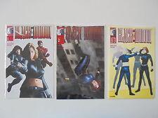 3x black widow-FASCICULE Nº 1 - 3. Marvel Knights BD. par 1