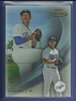 Julio Urias RC 2016 Topps Gold Label Class 1 Card # 62 Los Angeles Dodgers MLB