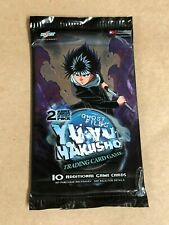 SEALED Yu Yu Hakusho TCG 1st Edition Ghost Files Booster Pack - 2 Rares per Pack