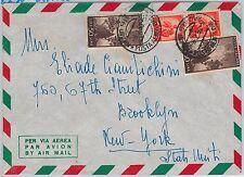 47429  - ITALIA REPUBBLICA Storia Postale: BUSTA Posta Aerea TARIFFA 115 L. 1950