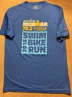 Mens Ironman Triathlon Shirt Oceanside Medium M 2015