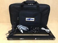 25600mAh Powered Rechargeable BoxKing 4828 Guitar Effect Pedalboard,Double Power