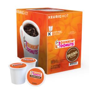 Dunkin' Donuts Coffee 22 Ct. K-Cups Pods Original Blend Keurig Medium Roast NEW