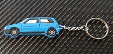 Fiat Uno Ie Turbo Car Key Ring - Blue