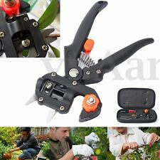 Garden Fruit Tree Pro Pruning Shears Scissor Grafting Cutting Tool KIT + 2 Blade