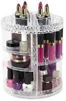 Sorbus 360° Makeup Organizer, Rotating Adjustable Carousel Storage