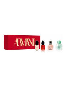 Giorgio Armani 4 Piece Perfume Gift Set New in Box Designer Christmas Present