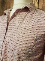Womens Tommy Hilfiger Boyfriend Fit Shirt Large 42 Chest