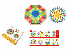 Tooky Toy Wooden OCTAGON Puzzle 73pc