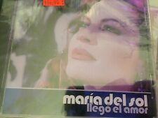 Llego el amor  -  Maria del Sol (CD,)