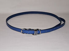 BNWOT size Large  Florence & Fred Blue Ladies Belt  34.5 to 43.5 inch