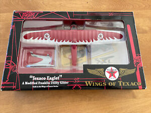 ERTL DieCast WINGS OF TEXACO #10 EAGLET FRANKLIN UTILITY GLIDER Wings NEW