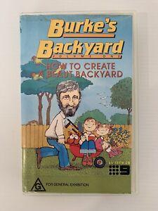 Burke's Backyard Volume One VHS - How To Create A Beaut Backyard 1989