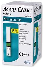 Accu-chek Active Glucose Blood Test strips Expiration 2021-01