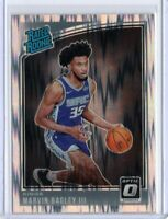 MARVIN BAGLEY III 2018-2019 Donruss Optic SHOCK PARALLEL PRIZM RATED ROOKIE #168