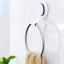 Gaoyu Kitchen Bathroom Suction Cup Adhesive Stainless Steel ABS+Plastic Ring