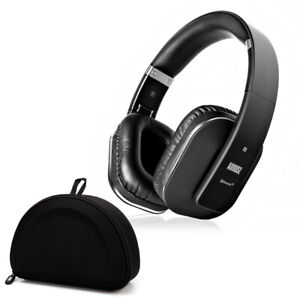 Bluetooth Wireless Stereo Headphones EP650B with Carry Case - aptX-LL NFC