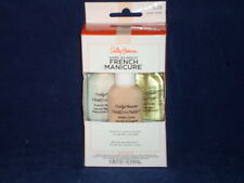 Sally Hansen French Manicure Kit Finger Toe Nails Nearly Nude               D4-1