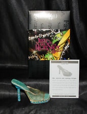 Just The Right Shoe by Lorraine Vail Shoe Miniatures-Illusions Nib
