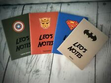 Superhero Personalised Notebook - Batman Captain America Transformers Stationary