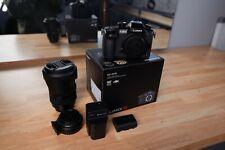 Panasonic Lumix GH5 4k + Sigma 18-35 1.8 + Viltrox EF-M2 0.71x Canon EF to MFT