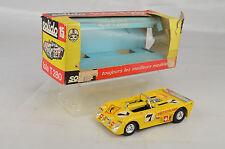 "Solido #15 Iola T-280 Race Car 3 1/4"" Long 1:43 Scale 1973  France Mint W/Box"