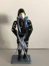 Black Major Custom GI Joe Cobra Action Force SAS Trooper Black/Grey New Color