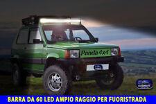 Barra Led Fiat Panda auto off road fuoristrada 4x4 luci faro kit tuning per in 1