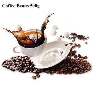 500g Vietnam Coffee Beans Baking Charcoal Original Green Food Tea High-quality