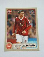 Panini WM 2018 M5 Henrik Dalsgaard Dänemark Denmark McDonalds World Cup 18