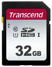 TRANSCEND 300S SD 32 GB CLASS 10 FLASH MEMORY CARD NEW A