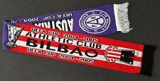 UEFA Cup 2004 AUSTRIA WIEN : ATHLETIC CLUB BILBAO Schal Fanschal Europacup