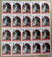 1989 NBA Hoops #166 - Earvin Magic Johnson Los Angels Lakers HOF - 20ct Card Lot